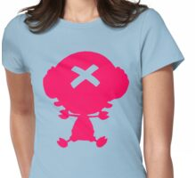 One Piece - Chopper (Pink) Womens Fitted T-Shirt