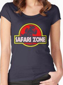 Safari zone Women's Fitted Scoop T-Shirt