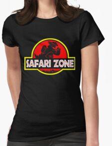 Safari zone Womens Fitted T-Shirt
