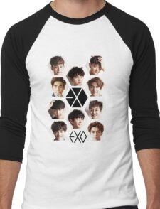 EXO - Group Hex Men's Baseball ¾ T-Shirt