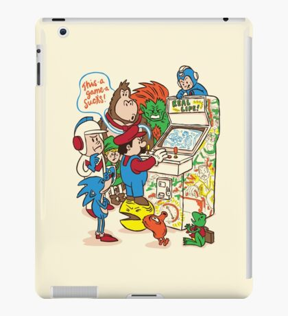This Game Sucks iPad Case/Skin