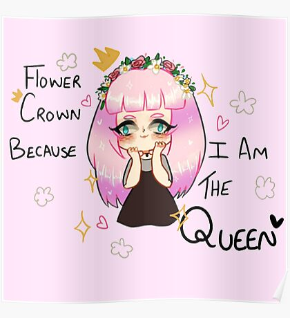 Your Rightful Flower Queen Poster