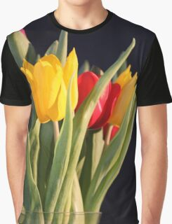 Tulips in a Vase Graphic T-Shirt