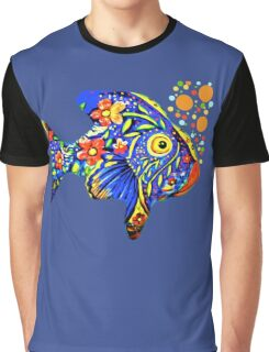Tropical Fish Graphic T-Shirt