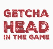 Getcha Head In The Game in red by AllieJoy224