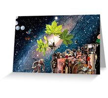 ACCROSS THE UNIVERSE Greeting Card