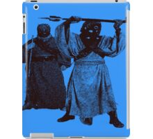 Tusken Raiders (Blue) iPad Case/Skin