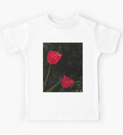 Two Red Tulips Kids Tee