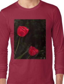Two Red Tulips Long Sleeve T-Shirt
