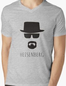 Heisenberg 'Walter White' Mens V-Neck T-Shirt