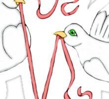 Doves of Love  Sticker