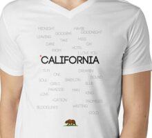 California ♪ Mens V-Neck T-Shirt