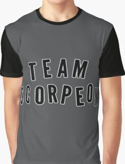 """TEAM SCORPEON"" - Scorpion (large) Graphic T-Shirt"
