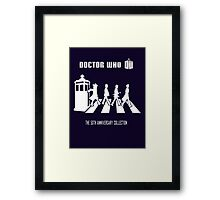 DR WHO 'Beatles style' Framed Print