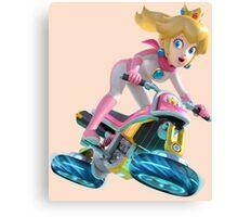 Mario Kart 8 - Princess Peach Canvas Print