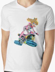 Mario Kart 8 - Princess Peach Mens V-Neck T-Shirt
