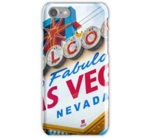 Welcome to fabulous Las Vegas iPhone Case/Skin