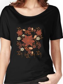 Floral Pattern #25  Women's Relaxed Fit T-Shirt