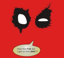 Deadpool on stuff by quickoss