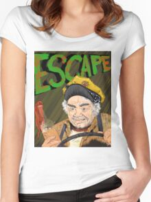 Cabbie's Escape! Women's Fitted Scoop T-Shirt