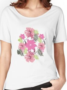 Floral Pattern #26  Women's Relaxed Fit T-Shirt