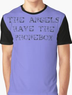 The Angels Have the Phonebox (sticker) Graphic T-Shirt