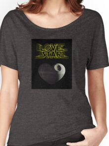 Star Wars LS Women's Relaxed Fit T-Shirt