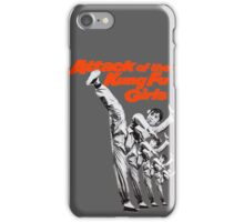 Kung Fu Attack Girls iPhone Case/Skin