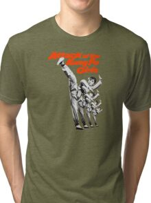 Kung Fu Attack Girls Tri-blend T-Shirt