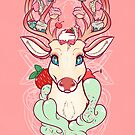 Cupcake Deer! (Print Only) by CupcakeCreature