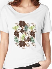 Floral Pattern #27  Women's Relaxed Fit T-Shirt
