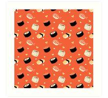 Sushi Sushi Art Print