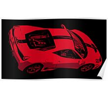 Ferrari 458 Poster
