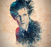 Matt Smith - Doctor Who #11 by TheWhiteBear