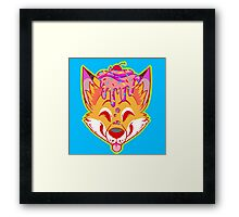 Cupcake Fox Framed Print
