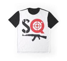 SQ with gun  Graphic T-Shirt