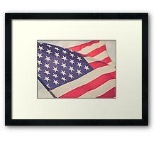 Flag of Freedom Framed Print
