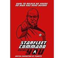 Starfleet Command enlist Photographic Print