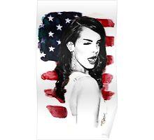 Lana Del Rey Poster