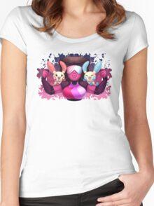 Gem Leader Garnet Women's Fitted Scoop T-Shirt