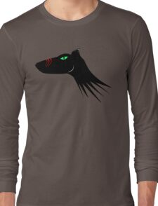 Scarred Wolf Long Sleeve T-Shirt