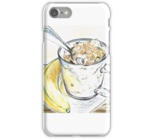 Banana Muselli for Breakfast  iPhone Case/Skin