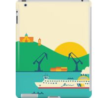 Sunrise at the Port iPad Case/Skin