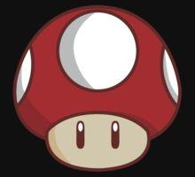 Mario Mushroom Kids Tee
