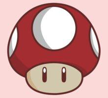 Mario Mushroom One Piece - Short Sleeve