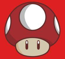 Mario Mushroom Baby Tee