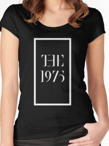 1975 white Women's Fitted Scoop T-Shirt