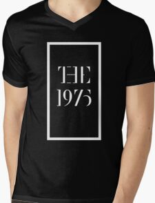1975 white Mens V-Neck T-Shirt