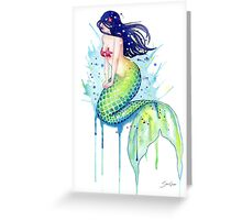 Mermaid Splash Greeting Card