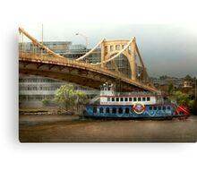 City - Pittsburg PA - Great memories Canvas Print